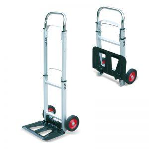 AT90 قابل حمل آلومینیوم تاشو سنگین گونی کامیون حمل و نقل چرخ دستی